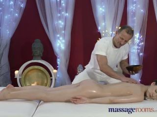 Massage Rooms Tall Russian model has sweet pussy stretched with hard cock - Porn Video 651