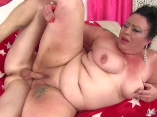 Mature Plumper Takes Big Young Cock, Free Porn 5c