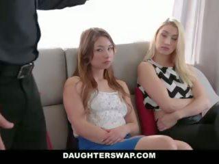 Daughterswap - tricking & מזיין שלהם אבות במהלך mardi-gras