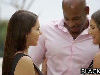 Blacked august ames i valentina nappi dziel się bbc