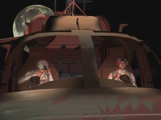 3D Animation Alien Invasion