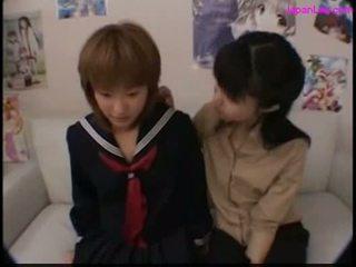 carino, giapponese, lesbiche, giappone
