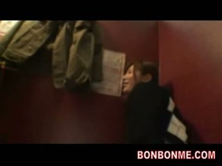 Horny busty jap girl feel shame fucked in net cafe