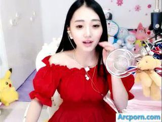 webcam, gadis, cina, asian