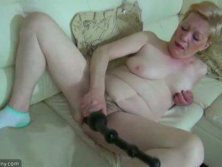 Oldnanny luma maturidad may malaki dildo masturbate