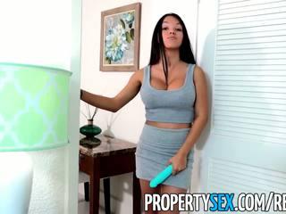 PropertySex - Landlord drills Latina tenant