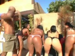 Big Bubble Butt Brazilian Orgy 04