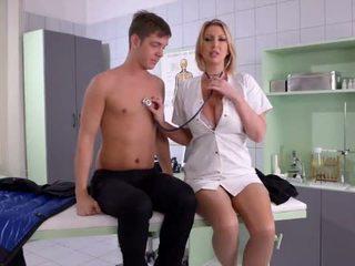 Busty Nurse fucks her Patient - Porn Video 731