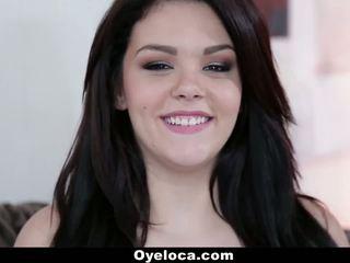 Oyeloca - 18 yo cubana jovem grávida loves para caralho!