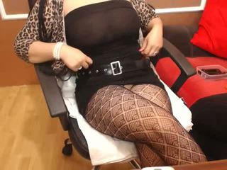 Busty Arab Girl in Fishnet Dances on Cam, Porn 25