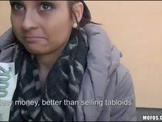 Newspaper vendor Ashley pounded for cash