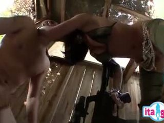 Italian mom and son accidental anal