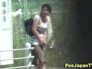 japanese fun, voyeur great, outdoor