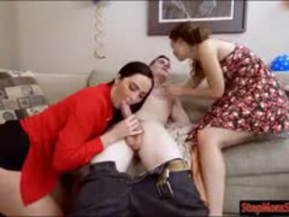 Stepmom Bianca Breeze 3some With Couple