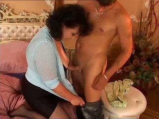 Hairy Mature Maid Tries Threesome, Free Porn 01