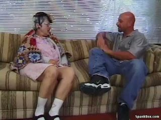 Granny gets reamed by young man