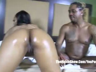 Sexy Stripper Thick Booty Lusty Red Fucked by Bbc King Kreme Video