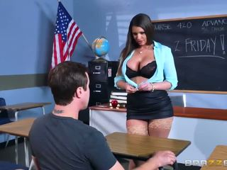 Brazzers - sexy milf brooklyn chase teaches henne student