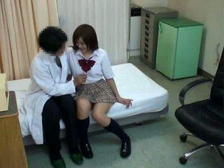 여학생 hypnosis 섹스 와 의사