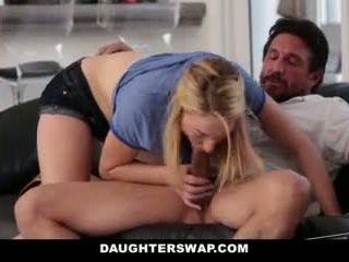 Daughterswap- Daughters Play Poker And Fuck Dads