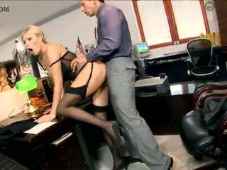 analsex, glasses, office, heels