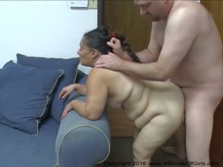 Big Butt Mexican BBW Granny Maid gets Abused: Free Porn 60