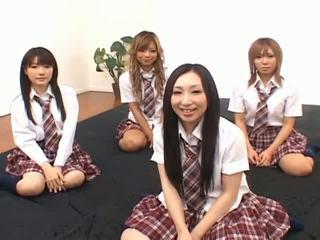 japon, asyalı kızlar, kız öğrenciler, japon kızlar