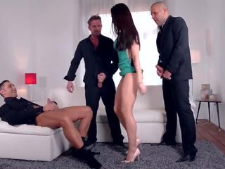 online brunette, check big dick see, great double penetration watch