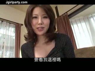 brunetka, seks oralny, japoński, masturbacja pochwy