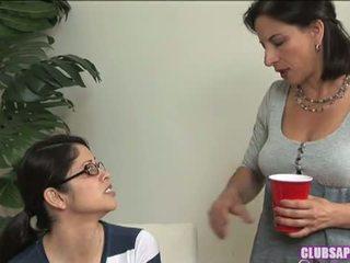 Student Seduction With Evie Delatosso And Melissa Monet