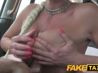 Fake Taxi Driver caught wanking in ladies underwear