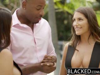 Blacked august ames ja valentina nappi aktsia bbc - porno video 021