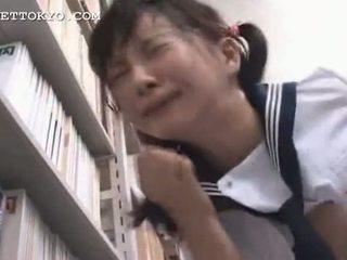 เซ็นเซอร์ - เอเชีย เด็กนักเรียนหญิง squirts และ gets a หน้า ฉัน