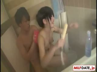 日本, 淋浴, 鐵桿