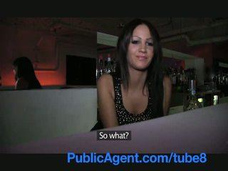 Publicagent ayna bukkake barmaid gets becerdin arkasında the bar