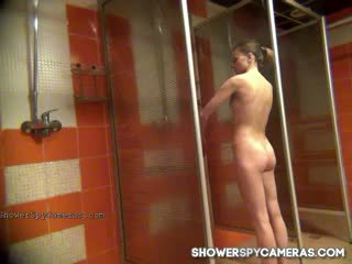 free brunette rated, you voyeur real, shower