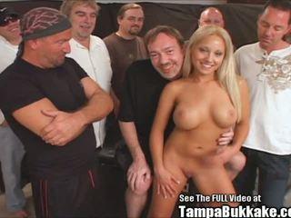 Jasmine Tame Sperm Flying Gangbang Bukkake Party: Porn 09