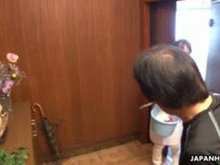 Fantastic Hard Working House Maid Yukari Toudou Is Ready To