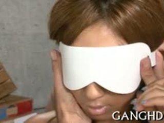 Sexy Oriental Darling Is Fucked Tenaciously In Gang Bang