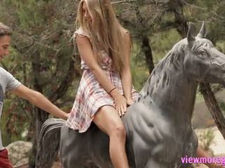 Ayna tugjob anjelica pounded outdoors
