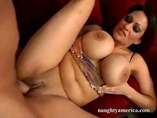 brunettes, big tits ideal, milf most