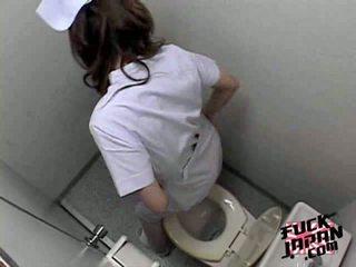 masturbation, toilette, asiatisch
