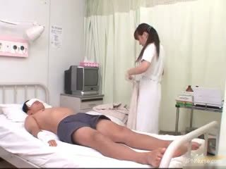 See How This Asian Nurse Gets So Horny Part6