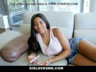 SisLovesme- New Step-Sis Loves My Cock <span class=duration>- 12 min</span>