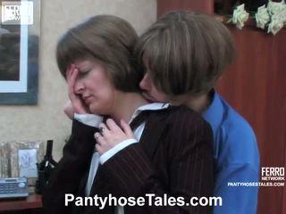Maria Nora Great Pantyhose Video