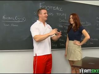 redheads, classroom, schoolgirls