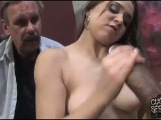 Tiffany نجمة enjoys أسود meat
