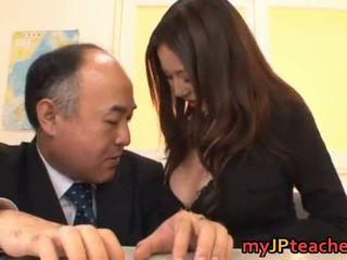 japonez, sânii mari, japonia, profesori