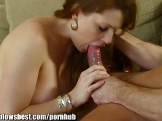 1000Facials Sexy MILF Alison Moore is asking Bill Bailey's hard service