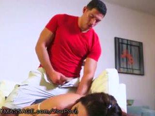 masturbacja, masaż, mama